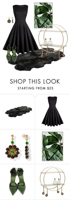 """""""Cocktail Party"""" by sarahmoirgvl ❤ liked on Polyvore featuring Bowron, Burberry and Arteriors"""