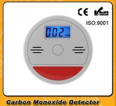 Home An Ninh 85dB Cảnh Báo Nhạy Cảm Cao LCD Quang Điện Độc Lập Cảm Biến Khí CO Carbon Monoxide Ngộ Độc Alarm Detector