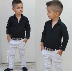 Trendy Ideas For Baby Boy Hairstyles Outfit Toddler Boy Fashion, Little Boy Fashion, Toddler Boy Outfits, Toddler Wedding Outfit Boy, Toddler Boy Haircuts, Little Boy Haircuts, Haircuts For Boys, Outfits Niños, Trendy Outfits