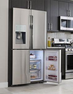 Samsung 4-Door Flex Refrigerator  **you can convert that open frig door section to a freezer, when needed.  3,000.00  DeR