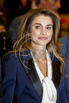 May 18, 2016, Queen Rania, state visit to Belgium