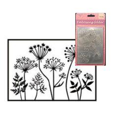 Dandelion Floral Border Die Cut Pack 4
