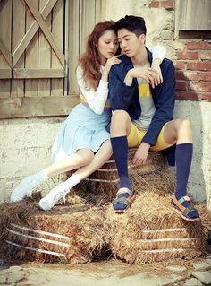 Lee Sung Kyung and Nam Joo Hyuk in Weightlifting Fairy Kim Bok Joo