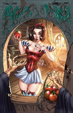 Snow White Reimagined By J. Scott Campbell