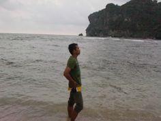 santai di pantai