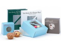 Window Bakery Boxes & Cake Boxes- Favors