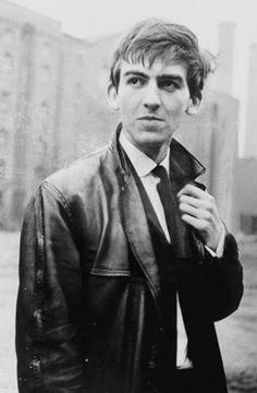 George Harrison, Liverpool, 1962 www.legendsinthecloud.com