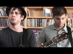 Foster The People - NPR Tiny Desk Concert. Not a huge fan with all the background noise on their album but I really like the acoustic stuff.