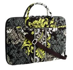 This is my laptop bag that I LOVE! It's Vera Bradley (Baroque style).  :)