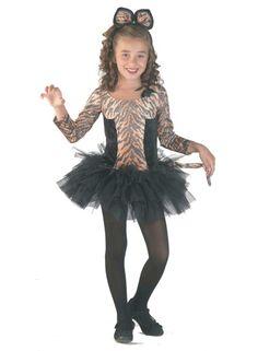 Tigerkostüm Mädchen: Tiger Kleid Kostüm für Teenager