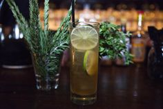 A bounty of herbs and a Tonic of Life at The Eveleigh.