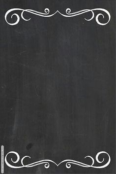estilos Brown Things new brown hair color 2018 Chalkboard Wallpaper, Chalkboard Background, Page Borders Design, Border Design, Food Poster Design, Menu Design, Candy Bar Labels, Powerpoint Background Design, Story Instagram