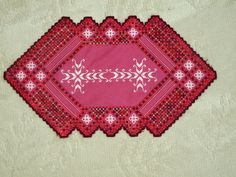 Hardanger on Lugana fabric.