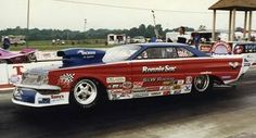 Ronnie Sox early Pro Modified nitrous injected Mercury Comet