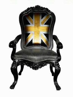 This chair was used by the Spice Girls. The chair was designed by Halo from Altrincham.