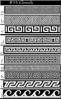 Greek pattern greek idea's  -patterns: