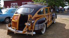 1942 Chrysler Town and Country station wagon