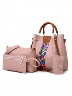 Set Purses and Handbags PU Leather Striped Shoulder Bags for Women 2018 Fashion Top-Handle Bags Female Shoulder Bag Set Purses and Handbags PU Leather Striped Shoulder Bags for Women 2018 Fashion Top-Handle Bags Female Shoulder Bag Price: Fashion Handbags, Purses And Handbags, Fashion Bags, Leather Handbags, Fashion Top, Luxury Handbags, Ladies Fashion, Ladies Handbags, Stylish Handbags