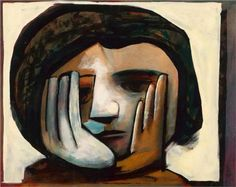 Paintings - Charles Blackman - Page 20 - Australian Art Auction Records Australian Painting, Australian Artists, Picasso And Braque, Blue Horse, Unusual Art, Art Database, Artist Names, Art Auction, Contemporary Paintings
