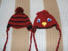 Toddler USC stripped and Cocky hats