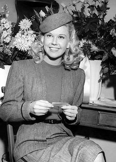 Doris Day 1948. Charisma, beauty, & charm. America's sweetheart at the time.
