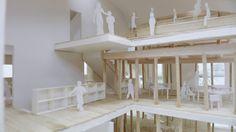 MAD transforma una casa japonesa tradicional en un innovador jardín infantil