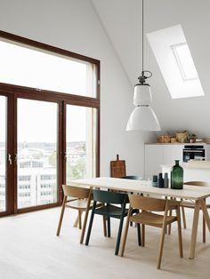 Wohnen, Esszimmer, Einrichtung, Schöne Aussicht, Inspirierend, Essen, Für  Zu Hause, Wohnzimmer, Eßzimmerstühle