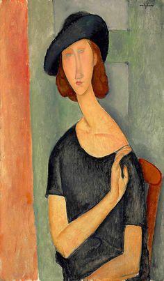 Amedeo Modigliani, Modigliani Paintings, Art Français, Figurative Kunst, Edvard Munch, Modern Art Paintings, Famous Art Paintings, Paul Cezanne, Italian Painters