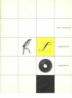 Alvin Lustig :: Jim Lansing Speakers