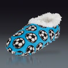 6b3dd6579a6 Snoozies Soccer Slippers  12 Soccer Equipment