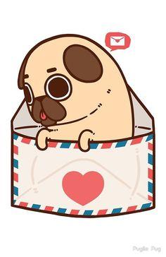 You've Got Mail by Puglie Pug