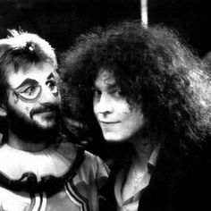 Ringo Starr and Marc Bolan