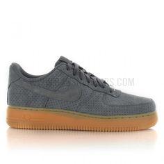 Nike Air Force 1 Suede femme gris 749263-001 (image n°1)