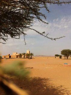 Un village en plein désert