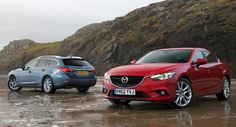Mazda Wins Red Dot Design Award for Its Sleek New 6 - Carscoops Mazda Cars, Mazda6, Red Dot Design, News 6, Red Dots, Automotive Industry, Design Awards, Two By Two, Vehicles