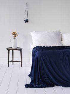 Bamboo Sheets - Blue Nights
