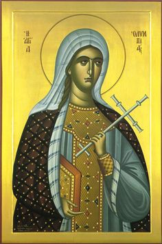 St. Olympia, the Deaconess