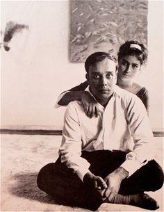 MONDOBLOGO: Yves Klein and Rotraut Uecker Paris 1961