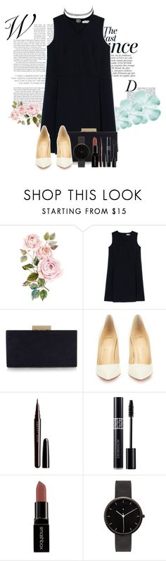 """Untitled #583"" by queenxxbee ❤ liked on Polyvore featuring Anja, Jil Sander, Monsoon, Christian Louboutin, Marc Jacobs, Christian Dior, Smashbox, Charlotte Russe, I Love Ugly and casual"