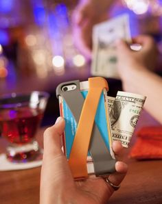 Quirky PCRS1-WH01 Crossover iPhone 5 Wallet Case