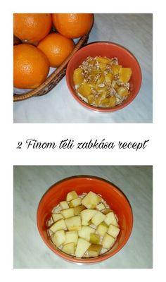#recept #receptötlet #egészséges #egészségesreggeli #reggeli #zab #zabkása #alma #almásfahéjas #narancs #dió #méz #blogger