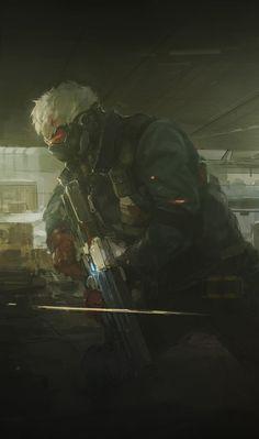Soldier 76 by Jack Morrison, Soldier 76, Geek Games, Best Fan, Ship Art, Cyberpunk, Techno, Cool Designs, Character Design