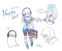 oh yes. seems like a good time to think of Napstabot. - Undertale