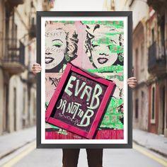 Placa decorativa Marilyn Monroe - StickDecor | Decoração Criativa Placa marilyn monroe