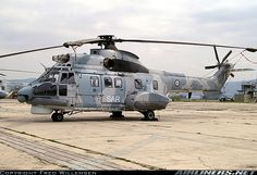 Eurocopter AS-332C1 Super Puma   Greece - Air Force