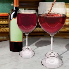 Give your favorite World Class Wine Drinker the Wine Glass of Champions by Gama Go!