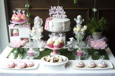 First Holy Communion sweet table decor First Holy Communion, Holi, Table Decorations, Cake, Sweet, Party, Candy, Pie, Fiesta Party
