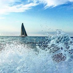Photo by @stephenwilkes: I'm headed out fishing this Saturday morning--enjoying every last drop of the final weeks of summer.  #iphoneonly #fishing #sailboat #waves #ocean #BlockIsland #RI #beautifulday by natgeo