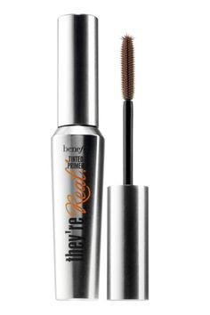 If your lashes are too light for a heavy black mascara but you still want a defined look, this Benefit primer also looks amazing when used alone. Get a feathered look and tint lashes with this gel formula while still looking natural.
