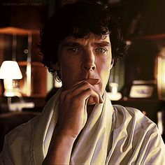 I would pay him to sit and think so I could watch the smouldering!